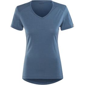 Mammut Alvra Shortsleeve Shirt Women blue